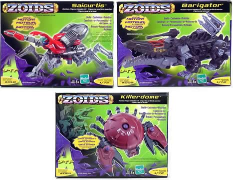 Zoids Basic Wind Ups (Wave 3)