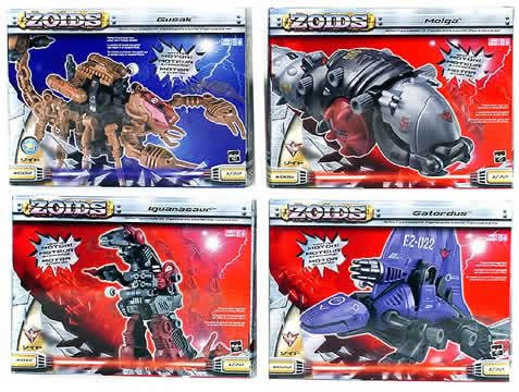 Zoids Basic Wind Ups (Wave 4)