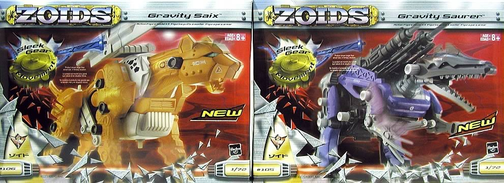 Zoids Mega Model Kits Asst. 1