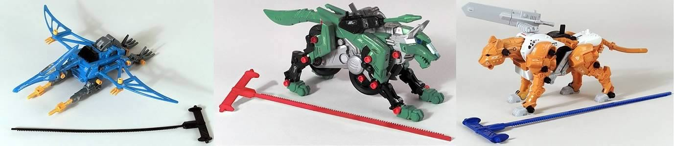 Zoids Mega Model Kits Asst. 3