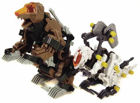 Zoids Bear & Spinosnapper