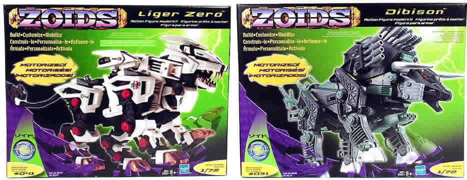 Zoids Motorized Asst. 1 Set