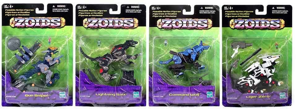Zoids Basic Figures Asst. 2