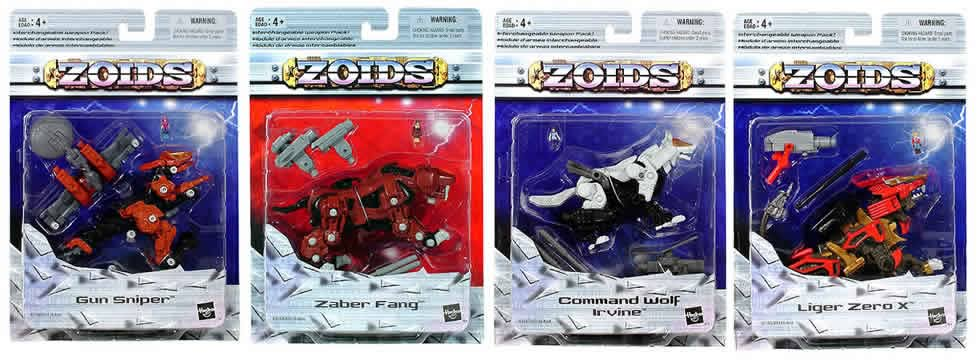 Zoids Basic Figures Asst. 4