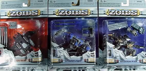 Zoids Basic Figures Asst. 6