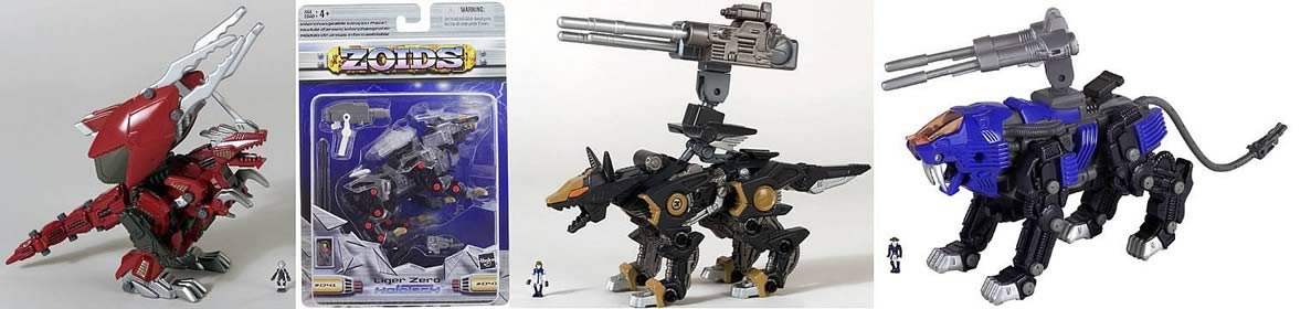 Zoids Basic Figures Asst. 7