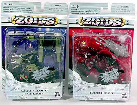 Zoids Basic, Asst. 3, 3-Pack