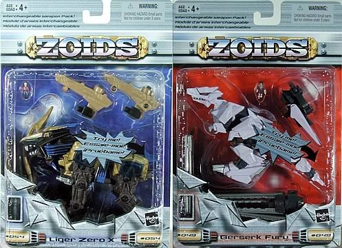 Zoids Basic, Assortment 4 Set
