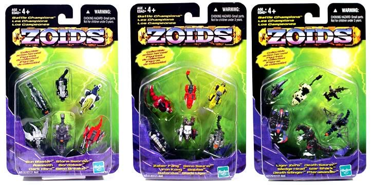 Zoids Basic PVC 6-Pack Asst. 1