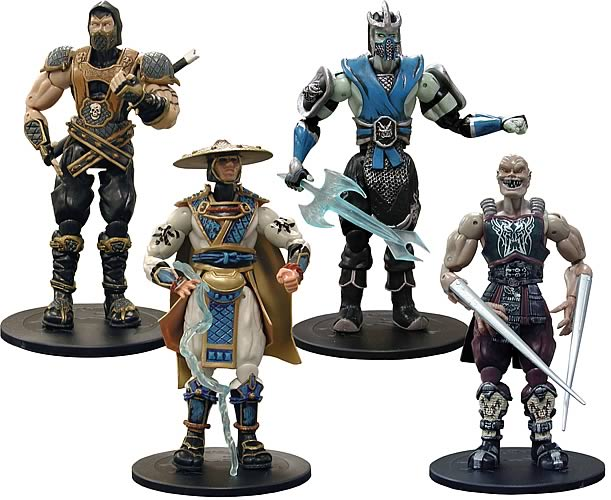 Mortal Kombat Series 1 Action Figure Set