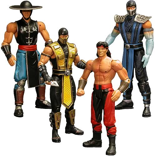 Mortal Kombat Series 2 Action Figure Set