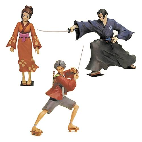 Samurai Champloo Wave 1 Action Figures