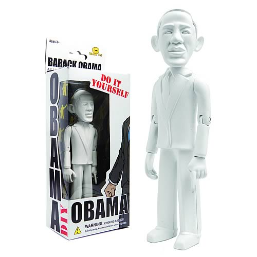Barack Obama Do It Yourself Action Figure