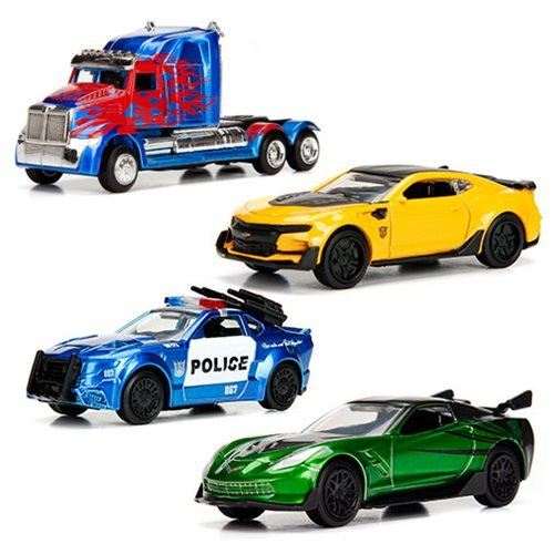 Transformers Last Knight 1:64 Vehicles Wave 1 Quarter Case
