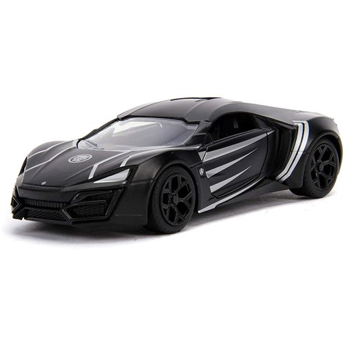 Hollywood Rides Black Panther W. Motors Lykan 1:32 Scale Die-Cast Metal Vehicle