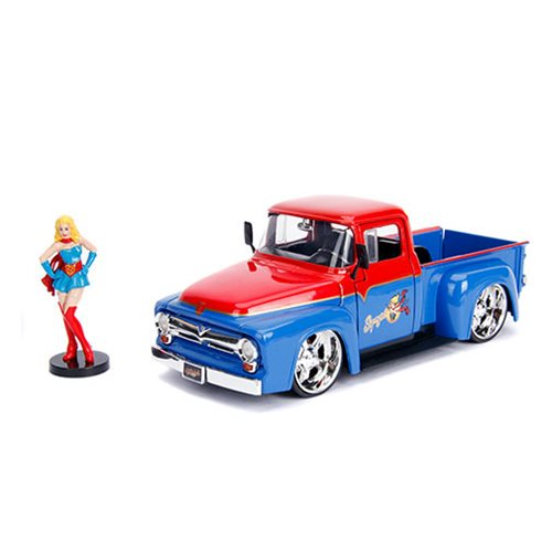 DC_Bombshells_Supergirl_1956_Ford_F100_124_Scale_DieCast_Metal_Vehicle