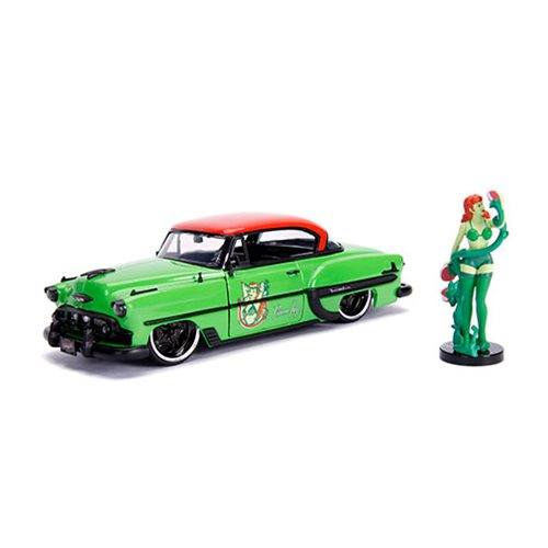 DC_Bombshells_Poison_Ivy_1953_Chevy_Bel_Air_124_Scale_DieCast_Metal_Vehicle