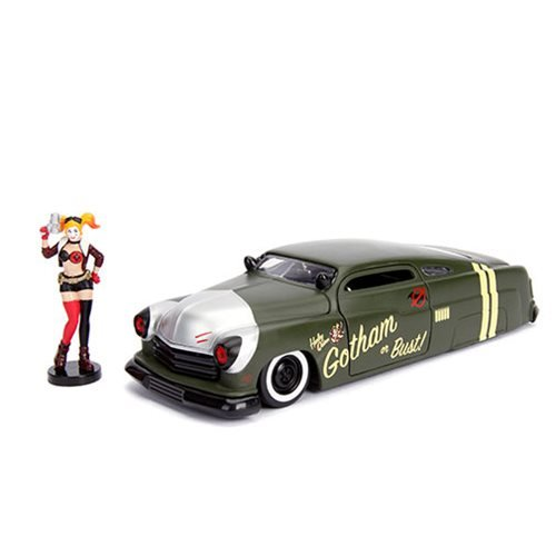DC_Bombshells_Harley_Quinn_1951_Mercury_124_Scale_DieCast_Metal_Vehicle