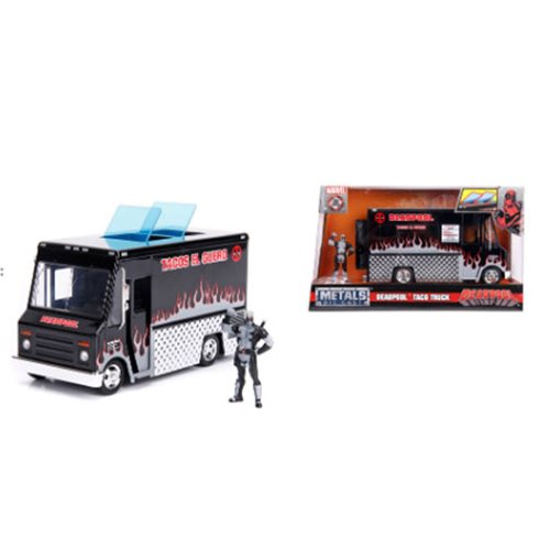 Marvel_Deadpool_Alternate_Deco_Taco_Truck_124_Scale_DieCast_Metal_Vehicle_with_2_34Inch_Figure