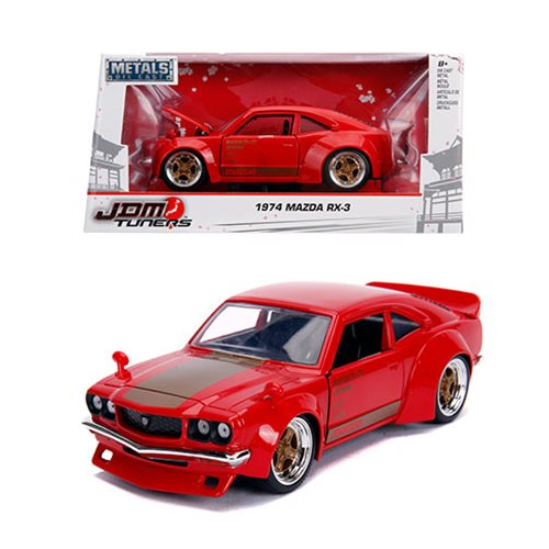 JDM_Tuners_1974_Mazda_RX3_Glossy_Red_124_Scale_DieCast_Metal_Vehicle