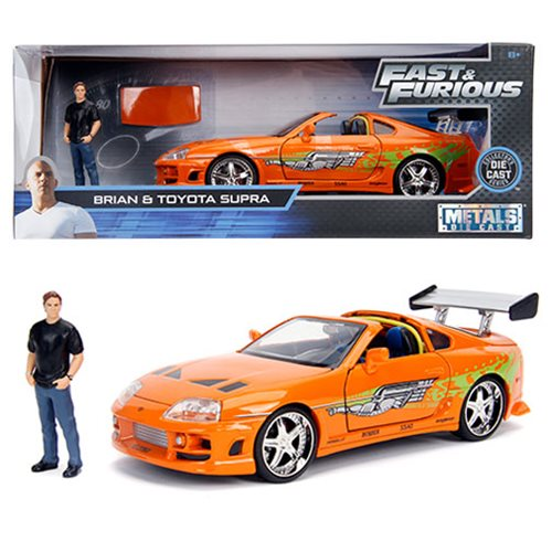 Hollywood_Rides_Fast_and_the_Furious_Toyota_Supra_124_Scale_DieCast_Metal_Vehicle_with_Brian_Figure