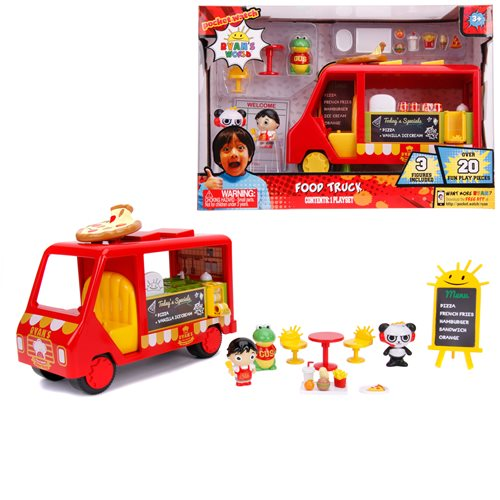 Ryan's World Food Truck Playset