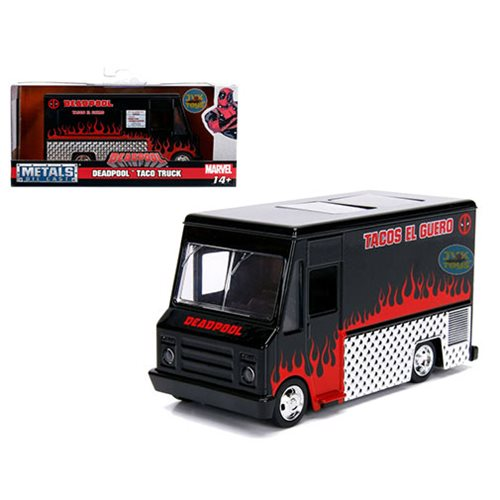 Hollywood_Rides_Deadpool_Black_Taco_Truck_132_Scale_DieCast_Metal_Vehicle