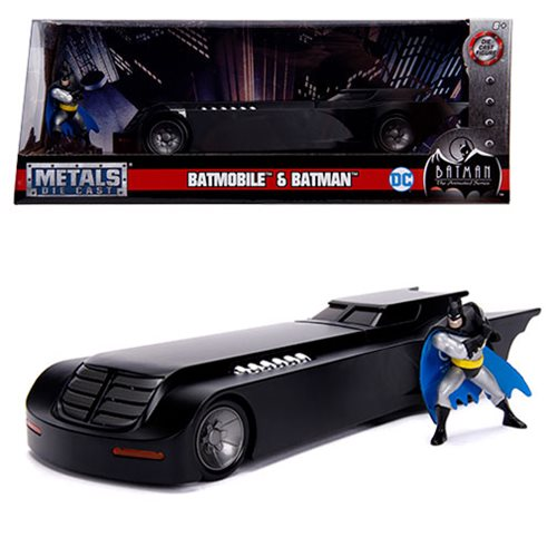 Batman_The_Animated_Series_Batmobile_124_Scale_DieCast_Metal_Vehicle_with_MiniFigure