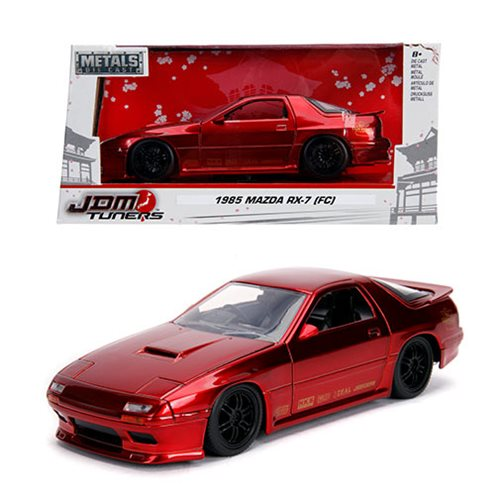 JDM_Tuners_1985_Mazda_RX7_FC_Candy_Red_124_Scale_DieCast_Metal_Vehicle