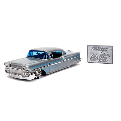 Jada 20th Anniversary Street Low 1958 Chevy Impala 1:24 Scale Die-Cast Metal Vehicle