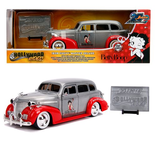Jada 20th Anniversary Wave 4 Hollywood Rides 1939 Chevy Master Deluxe 1:24 Scale Die-Cast Metal Vehicle