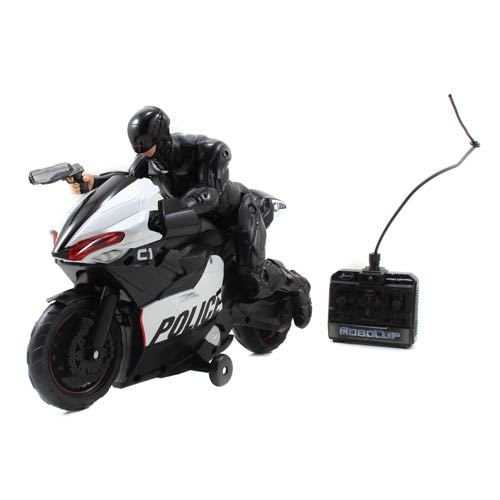 RoboCop Remote Control Motorcycle Vehicle with Figure