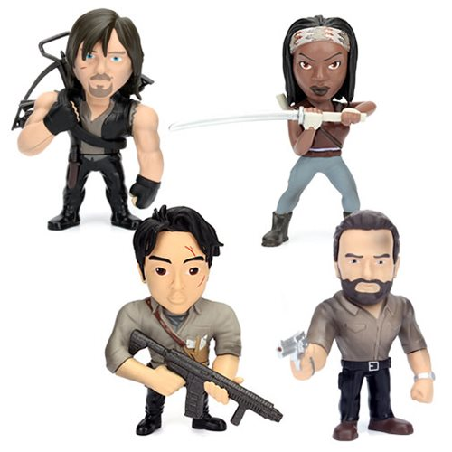 The Walking Dead 4-Inch Metals Die-Cast Action Figure Case