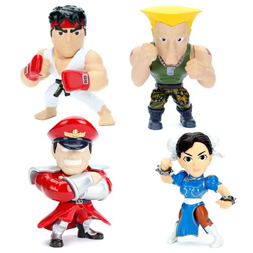 Street Fighter 4-Inch Metals Die-Cast Action Figure Case