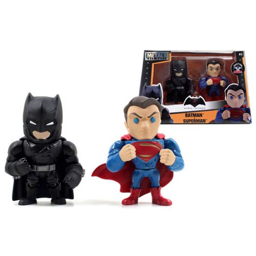 Batman v Superman 4-Inch Alternate Die-Cast Figure 2-Pack