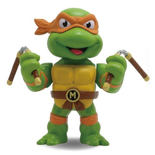 TMNT Michelangelo 4-Inch Metals Die-Cast Action Figure