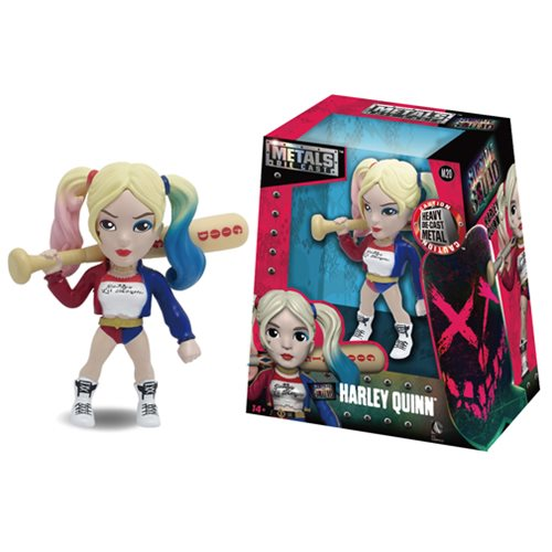 Suicide Squad Harley Quinn 4-Inch Metals Die-Cast Figure