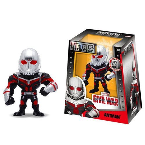 Captain America Civil War Ant-Man 4-Inch Metals Figure
