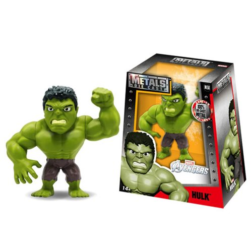 Avengers Hulk 4-Inch Metals Die-Cast Action Figure