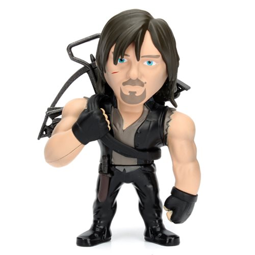 The Walking Dead Daryl 4-Inch Metals Die-Cast Action Figure