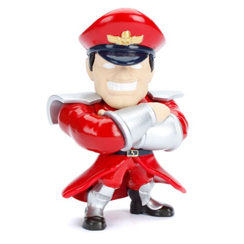 Street Fighter M. Bison 4-Inch Metals Die-Cast Figure