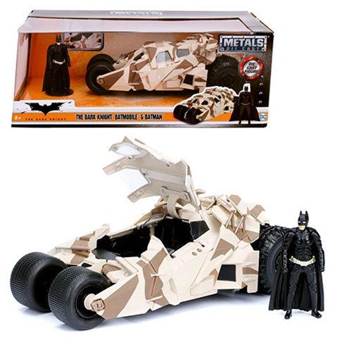 Batman Dark Knight Rises Tumbler Batmobile 1:24 Scale Die-Cast Metal Vehicle with Batman Mini-Figure<