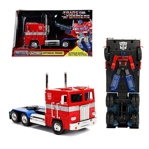 Transformers G1 Hollywood Rides Optimus Prime 1:24 Vehicle