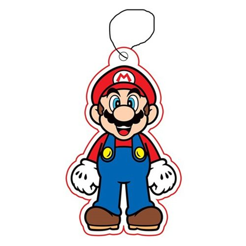 Super Mario Bros. Mario Air Freshener