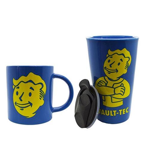 Fallout Coffee Mug and Travel Mug Gift Set