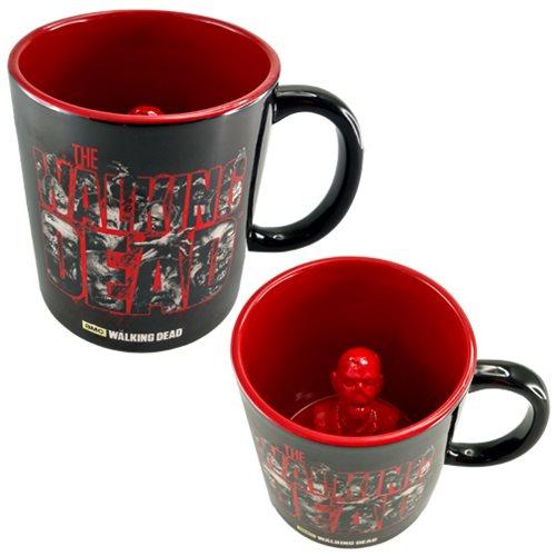 The Walking Dead Molded Zombie Inside 20 oz. Ceramic Mug