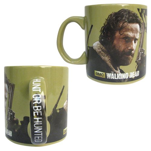 The Walking Dead Rick Hunt Or Be Hunted Mug with Handle