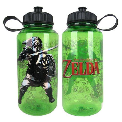 Water Bottle Zelda: The Legend Of Zelda Map Of Hyrule Water Bottle