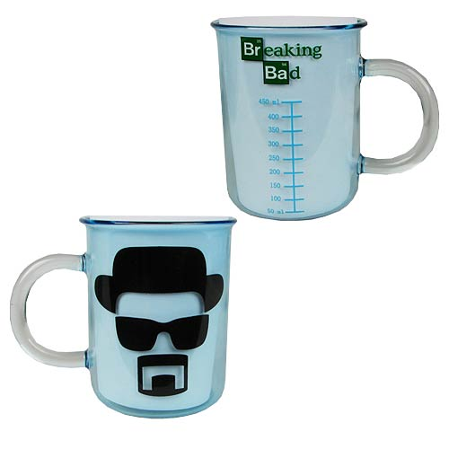 Breaking Bad Heisenberg Sketch Beaker 11 oz. Coffee Mug