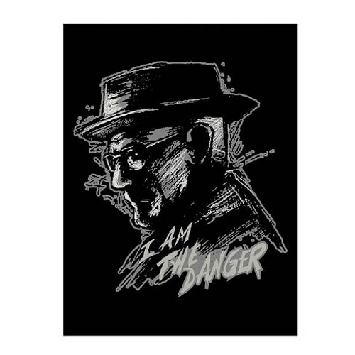 Breaking Bad Danger Fleece Throw Blanket